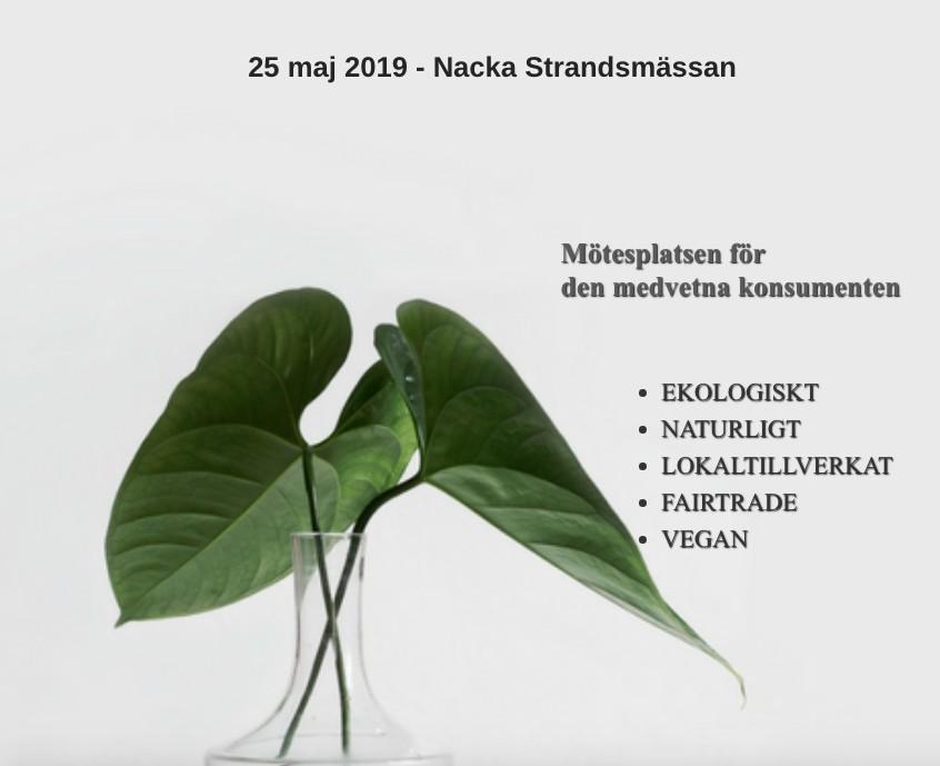 Ekorekomassan en ekologiskt mässa i Stockholm