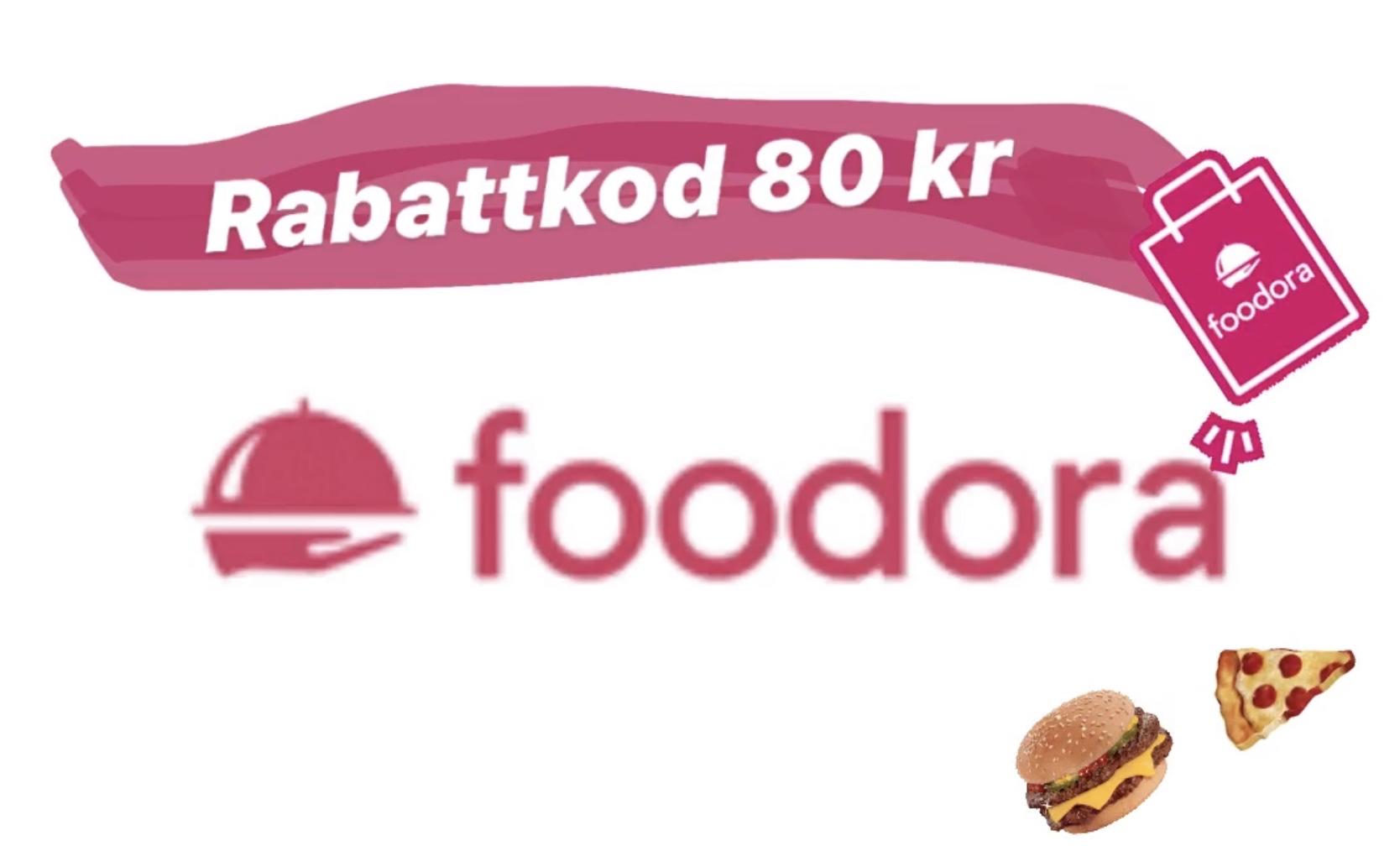 rabattkod foodora